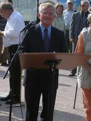 Arnold Tölg würdigt die deutschen Heimatvertriebenen