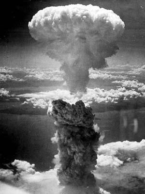 Die Atombombenabwürfe über Japan