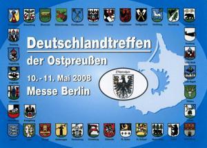 Deutschlandtreffen der Ostpreußen 2008