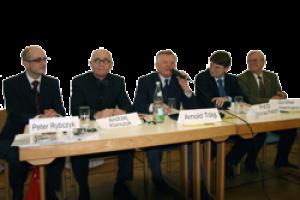 Podiumsdiskussion in Stuttgart