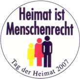 Button des Tags der Heimat 2007