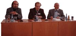 Podiumsdiskussion in Weingarten